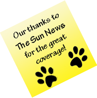 Canine Angels thanks The Sun News