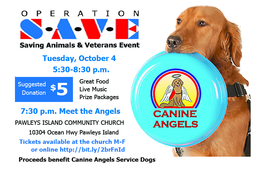 Saving Animals and Veterans Event